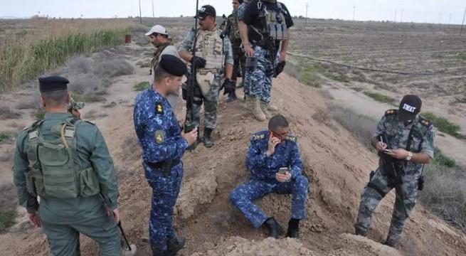 عاجل .. الشرطة الاتحادية ترفع العلم العراقي على مبنى المجمع الحكومي في ناحية العباسي