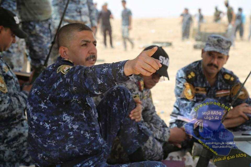 قائد الشرطة الاتحادية : خضنا معركة خاطفة وببسالة عالية لتحرير ايسر الشرقاط