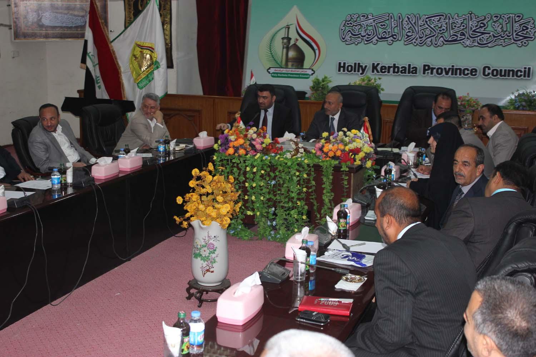 مجلس كربلاء يصوت على منع تحرك اي قوة عسكرية داخل حدود المحافظة