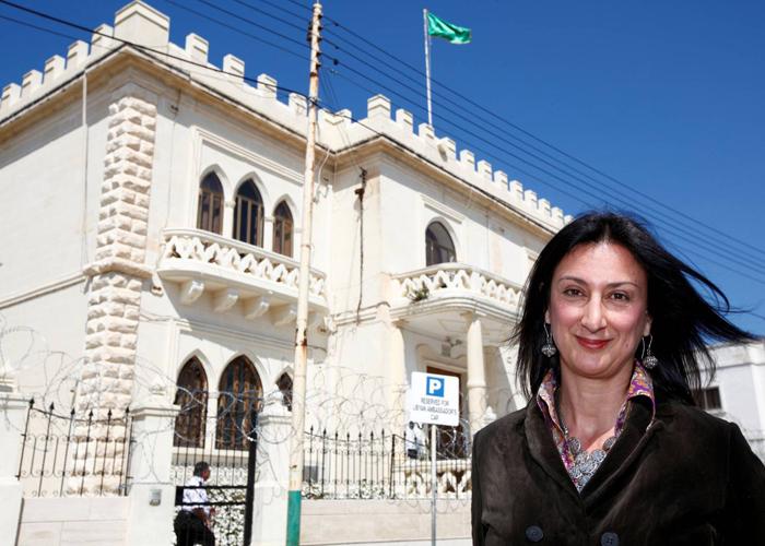 الصحافية  دافني كروانا  تدفع حياتها ثمنا لملاحقة الفساد في العالم