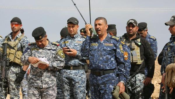 عمليات فرض القانون والعمليات الانسانية لمحور قيادة قوات الشرطة الاتحادية