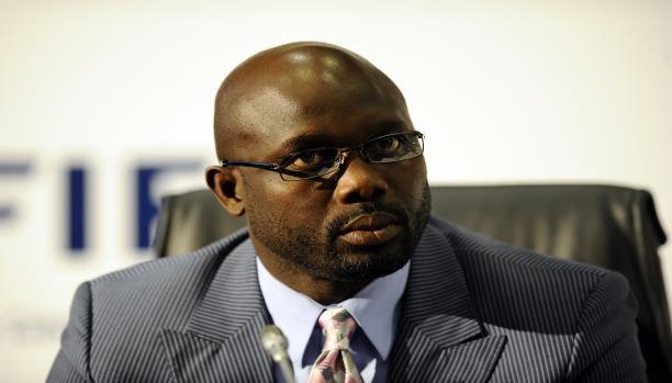 النجم كرة القدم  جورج ويا يقترب من رئاسة ليبيريا