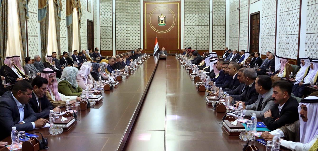 العبادي: جيشنا من اقوى جيوش المنطقة ولن نحمي اية جهة اعتدت على المواطنين