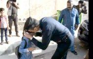 قائد شرطة كربلاء في مبادرة انسانية لعوائل الشهداء