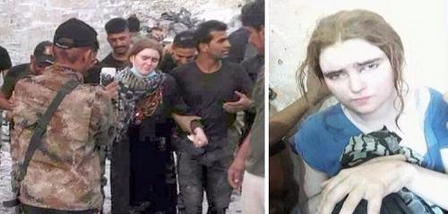 ( حسناء داعش )  تروي لأول مرة تفاصيل وصولها الى الموصل