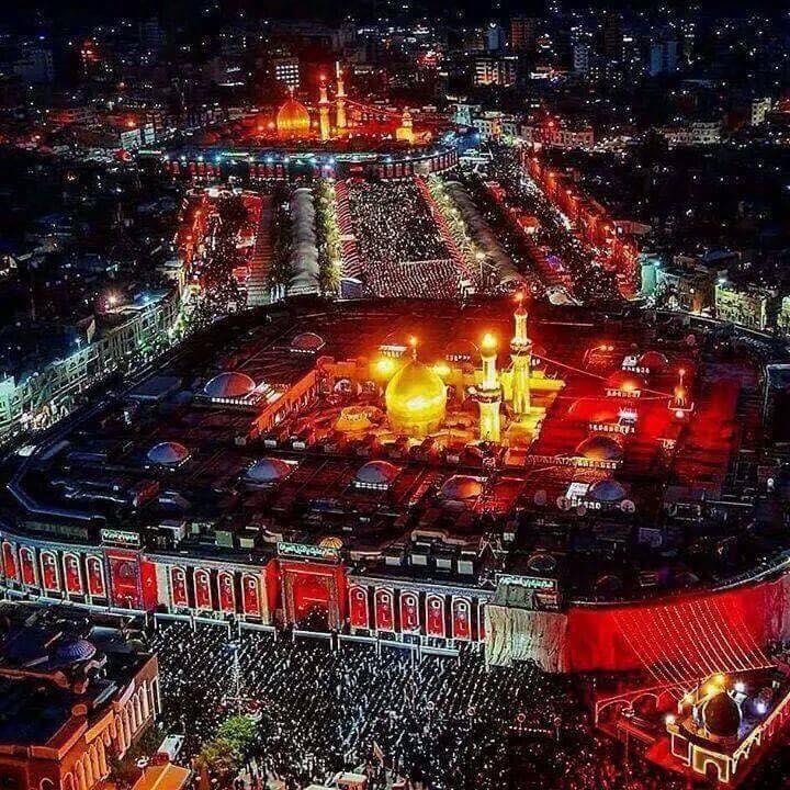 بالصور .. ملايين الزوار يحيون أربعينية  الإمام الحسين ع