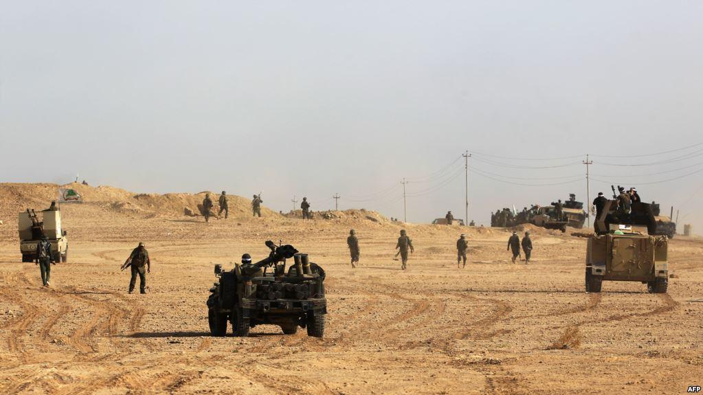 قوات الجيش والحشد الشعبي  تطلق عملية 'تطهير' الجزيرة