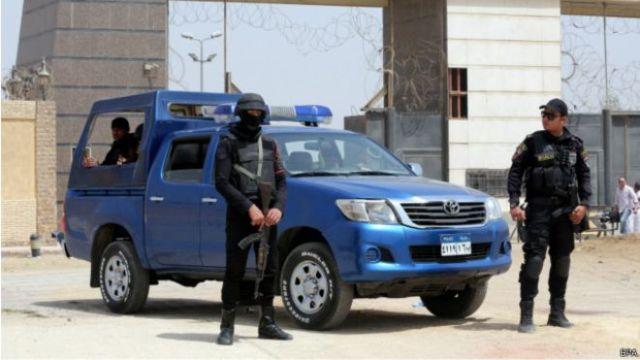 الداخلية المصرية تعلن مقتل 9