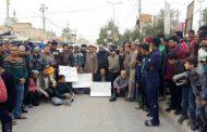 العشرات يتظاهرون بكربلاء للمطالبة بفتح سوق مغلق ويحذرون من استغلاله انتخابياً