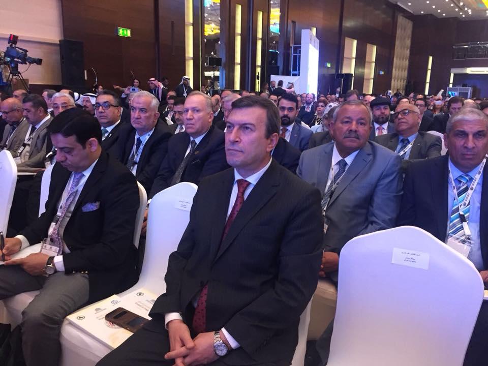 محافظ كربلاء يكشف عن برنامج المحافظة امام الشركات العالمية في مؤتمر الكويت