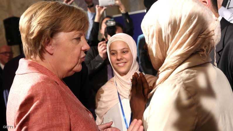 ميركل : الإسلام جزء من ألمانيا