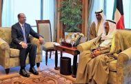 الجبوري لامير الكويت: نتطلع لبدء صفحة جديدة مع محيطنا العربي