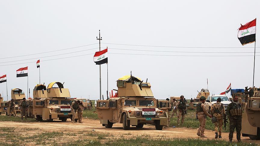 انطلاق عملية أمنية لمطاردة بقايا داعش في بساتين الوقف بديالى