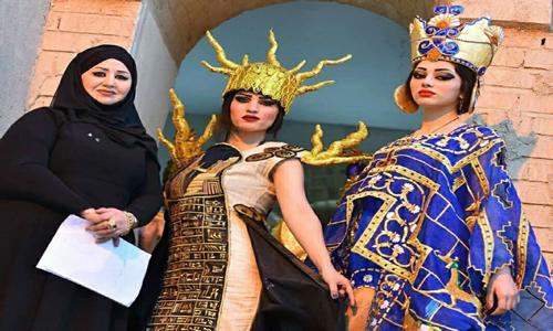 عروض الازياء العراقية ظاهرة ثقافية