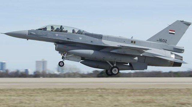 العمليات المشتركة: طائرات F16 تدمر مقر قيادة ودعم لوجستي لداعش في سوريا