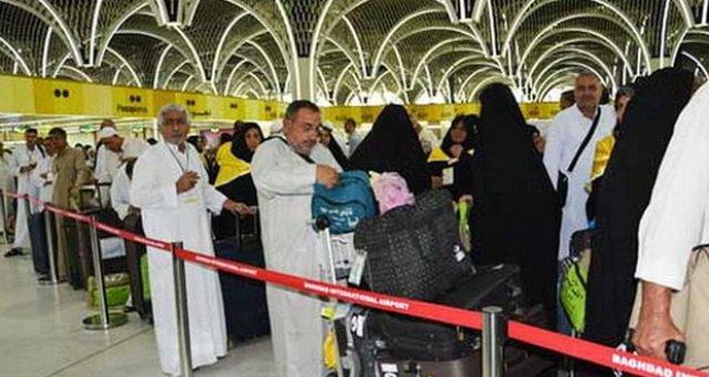 بعثة الحج العراقية: عدد الحجاج الواصلين للديار المقدسة 20781