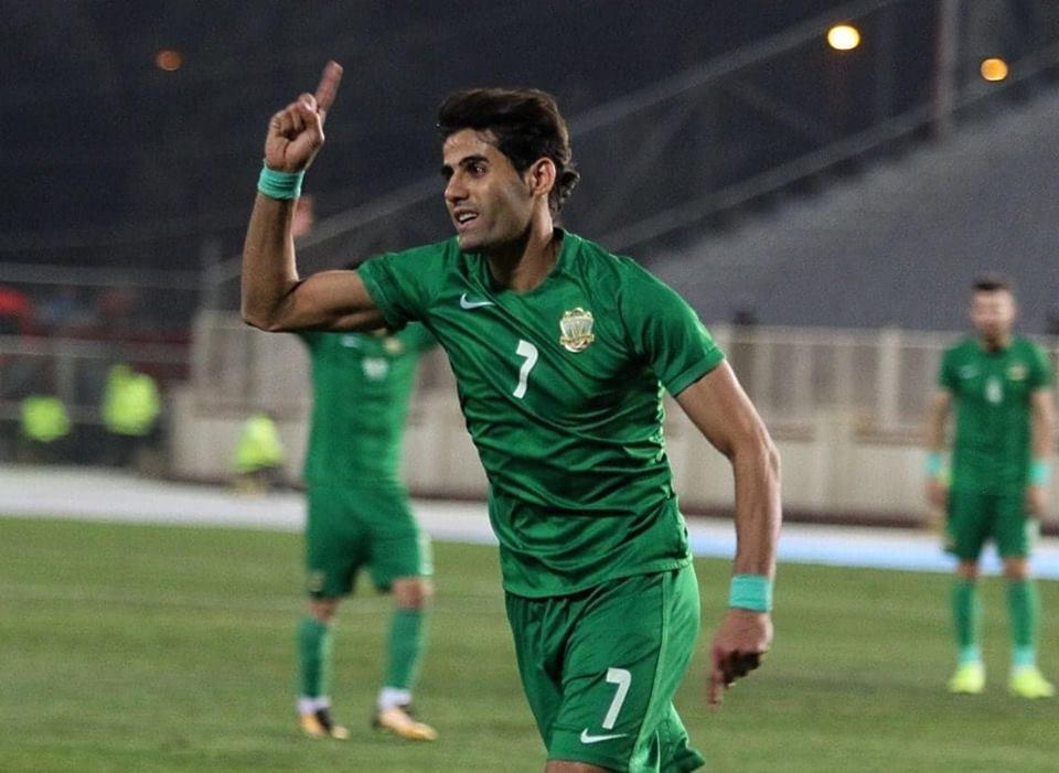 علاء عبد الزهرة يدخل تاريخ الدوري العراقي الممتاز