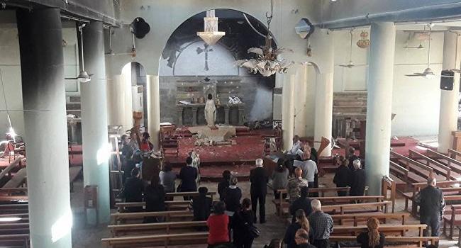 اعمار أقدم واكبر كنيسة فجرها داعش في الموصل