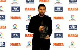 رسمياً.. ميسي يحصد جائزة أفضل لاعب بالدوري الإسباني