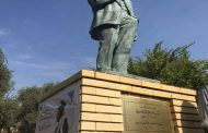 اقامة اول تمثال لممثل عراقي في بغداد!