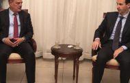 الأسد خلال لقائه نقيب الصحفيين العراقيين يشيد بمواقف العراق تجاه سوريا