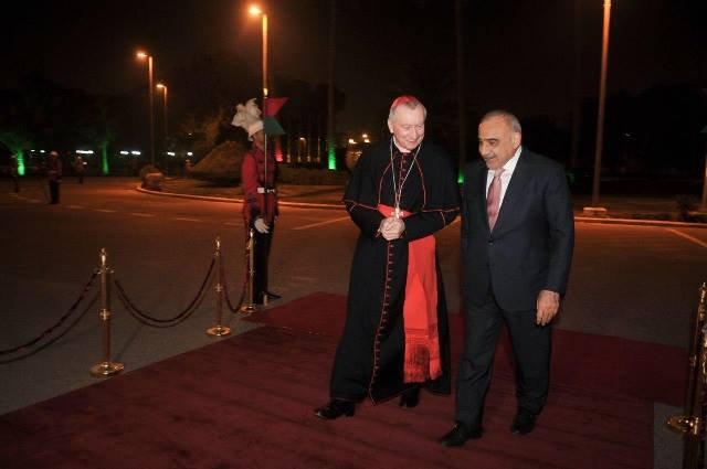 رئيس وزراء الفاتیكان يصل الى بغداد