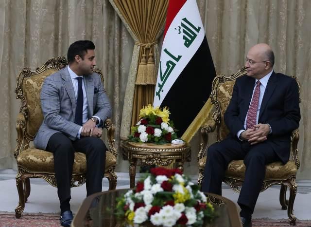 برهم صالح يؤكد أهمية تعزيز التعاون بين العراق وباكستان