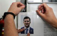 فوز كبير لزيلينسكي في الانتخابات الرئاسية في اوكرانيا