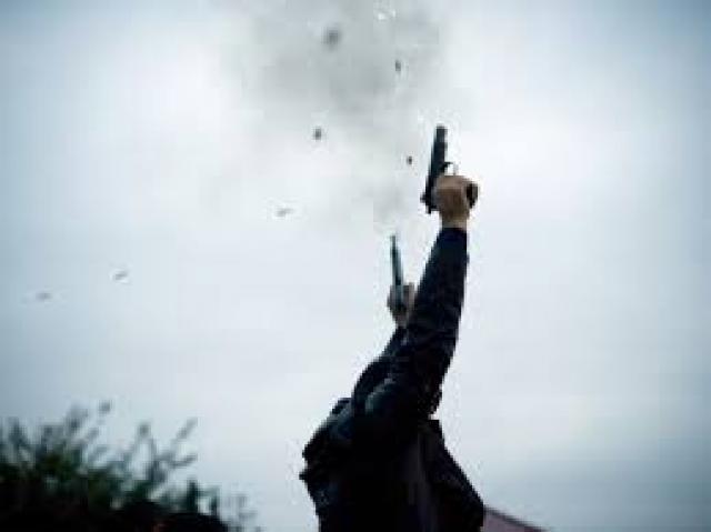 القبض على شخص يرمي الاطلاقات النارية بالهواء في الغزالية