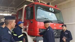 اندلاع حريق في المنصور غربي بغداد