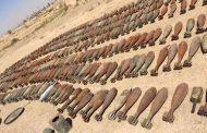 العثور على أسلحة وأعتدة متنوعة في صحراء غرب الأنبار