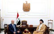 صالح والحكيم يشددان على ضرورة الإسراع في تشكيل الحكومة الجديدة