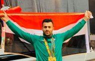 صفاء راشد يتوج ببطولة الفجر ويتأهل لأولمبياد طوكيو