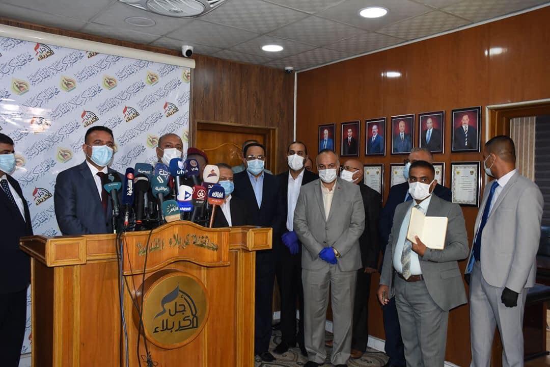 الصحة: قرب افتتاح المستشفى التركي في كربلاء بسعة 500 سرير