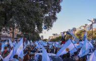 الارجنتين.. تظاهرات حاشدة ضد الحكومة إثر فضيحة تطعيم لقاح كورونا للمسؤولين