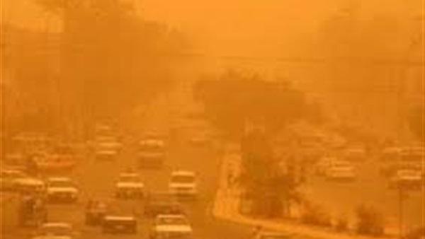 تسجيل ( 528 ) حالة إختناق في كربلاء  بسبب العاصفة الترابية التي ضربت المحافظة